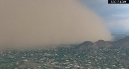 Phoenix haboob: massive dust storm rolls into Arizona