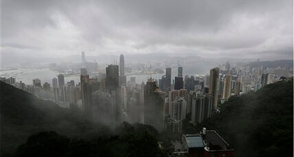 Typhoon Utor: Hong Kong hunkers down as deadly typhoon passes