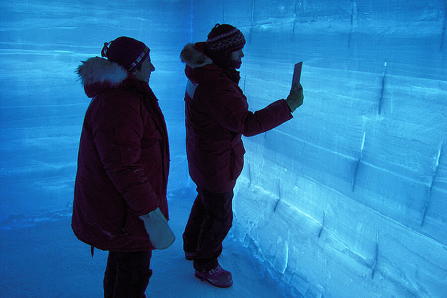 New Antarctic ice core reveals secrets of climate change