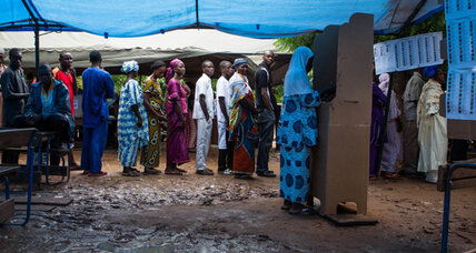 Malians grateful to put elections behind them, after a coup and war
