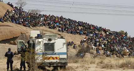 One year after South Africa's Marikana massacre: why, what, and how