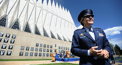 First woman takes command of US Air Force Academy: Will sex scandals stop?