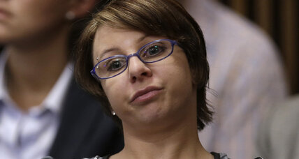 Michelle Knight speaks at Ariel Castro sentencing (+video)