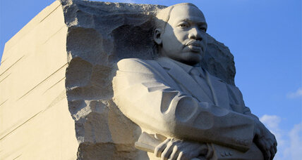 Martin Luther King, Jr. Memorial and the danger of the misquote