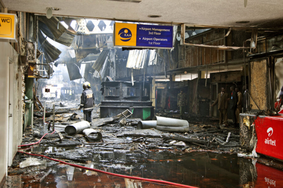 nairobi airport reopens to international flights after