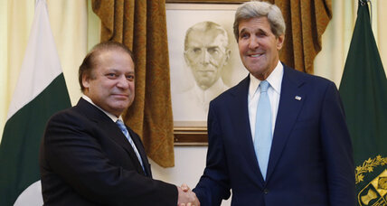 Kerry visit casts Pakistan more as partner than pariah (+video)