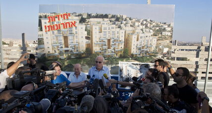 New Israeli settlement announcement overshadows peace talks