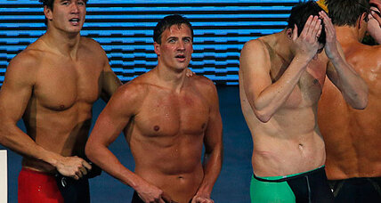 US swim team disqualified for .01 second mistake