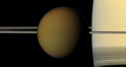 Saturn moon Titan's thick shell suggests bizarre interior