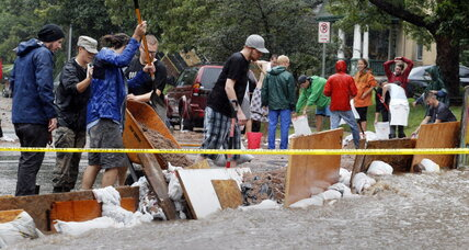 Evacuations ordered in Colorado as record rains produce relentless flooding (+video)