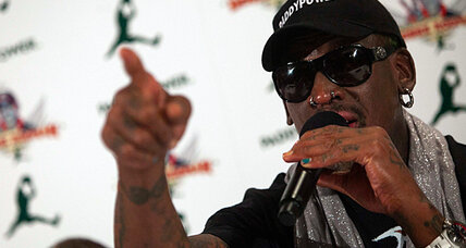Dennis Rodman back from North Korea. Time to take him seriously? (+video)