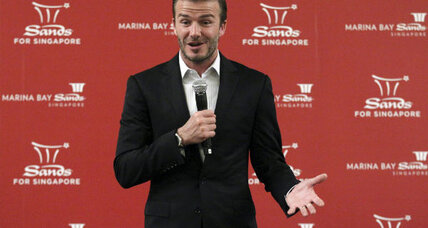 David Beckham teams up with foul-mouthed chef Gordon Ramsay