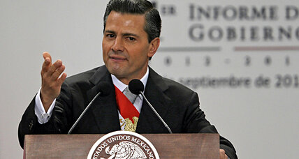 Mexico's Peña Nieto scores early political wins – but can he sustain support? (+video)