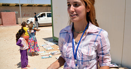 Displaced but finding new purpose in Jordan's Zaatari camp
