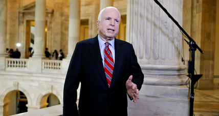McCain on Syria: Any resolution must include authority to attack air defenses