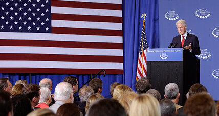 White House explainer-in-chief Bill Clinton talks Obamacare as rollout nears (+video)