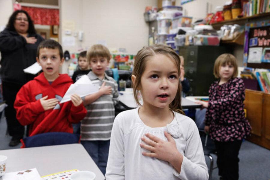 essay on pledge of allegiance in schools