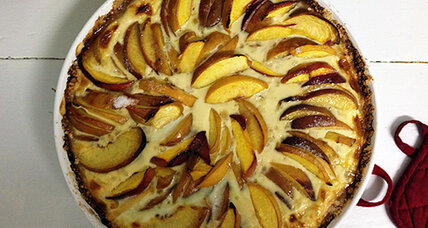 Cookbook Review: 'Cuisine Niçoise' and peaches and cream tart