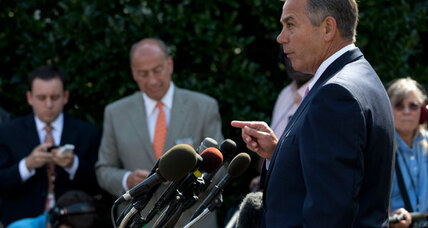House Speaker John Boehner: Would resigning be a smart move?