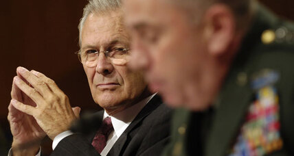 Donald Rumsfeld lambastes Obama on Syria: 'Take responsibility' (+video)