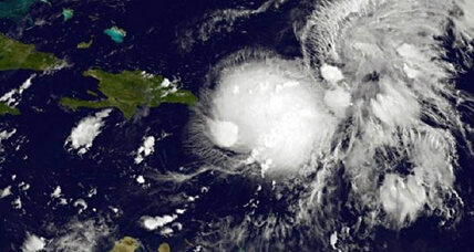 Tropical storm Gabrielle downgraded to tropical depression during heavy rains in Puerto Rico