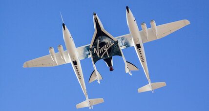 Virgin Galactic's SpaceShipTwo soars in rocket-powered flight test