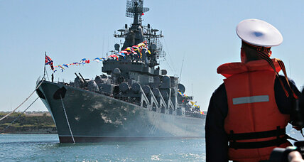 Russian warships: Why are they sailing toward Syria?