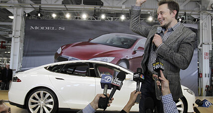 Elon Musk takes a road trip. Will it boost business for Tesla?