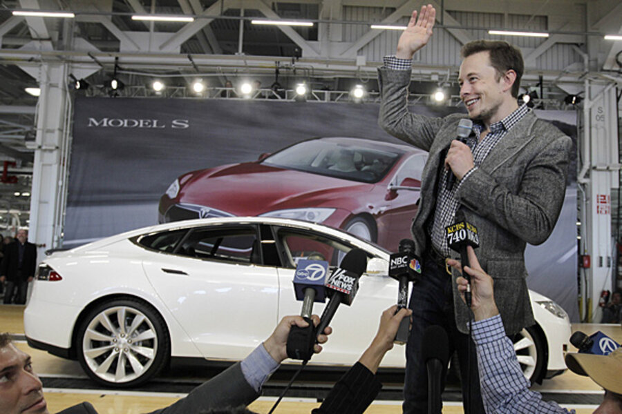 Elon Musk takes a road trip  Will it boost business for Tesla