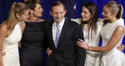 Australia elects conservative Tony Abbott (+video)
