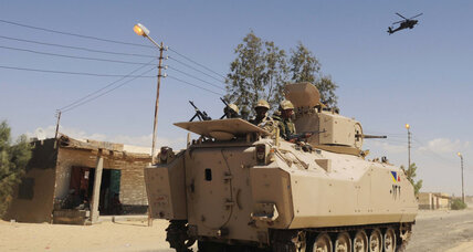 Egyptian army launches attack on Sinai militants
