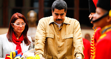 Six months after Chávez, military still plays strong role in Venezuela