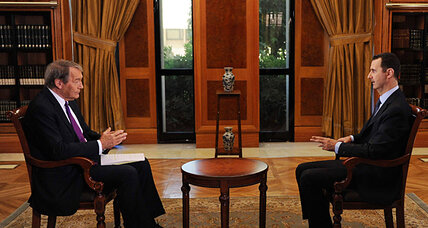 Charlie Rose interview with Assad: Did he make a blunder? (+video)