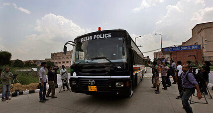 India court finds four men guilty in bus gang rape