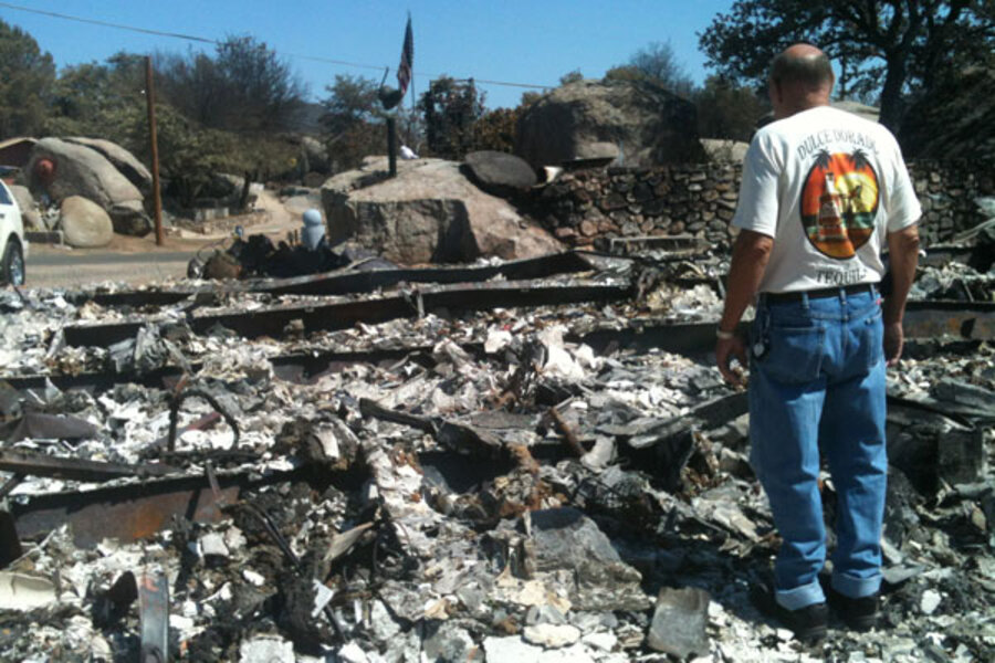 From Ashes Of Yarnell Fire Devastated Town Finds Renewal