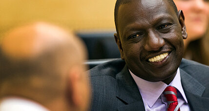 Kenya's No. 2 leader pleads 'not guilty' to crimes against humanity (+video)