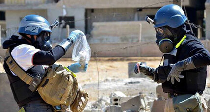 Syria's chemical weapons: why it could take decades to destroy them