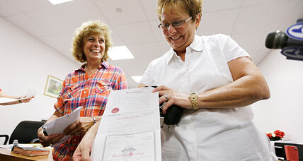 Same-sex marriage: Pa. judge orders clerk to stop issuing licenses to couples
