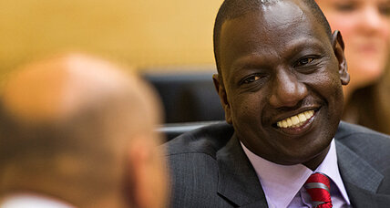 Can Kenya's leaders skip part of their international crimes trials?