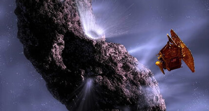 Did life on Earth come from a comet?