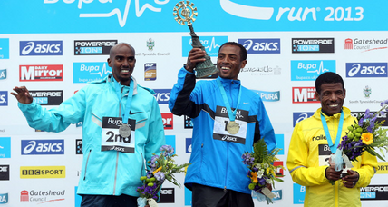 Haile Gebrselassie, Mo Farah, Kenenisa Bekele take top spots in Great North Run