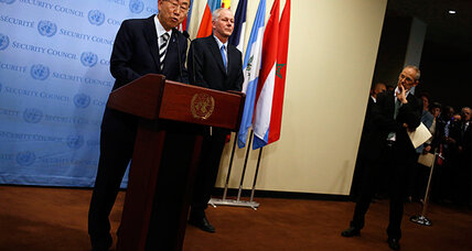 UN report affirms nerve gas used in Syria, fueling demands for accountability (+video)