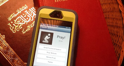 Religion apps put faith in the palm of your hand