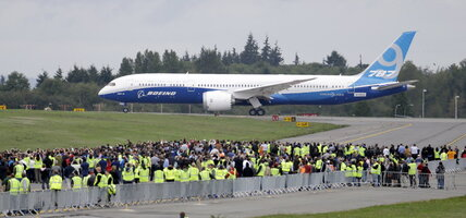 Larger version of Boeing's Dreamliner makes its first flight