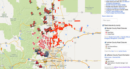 How Google helps people seek refuge from Colorado floods