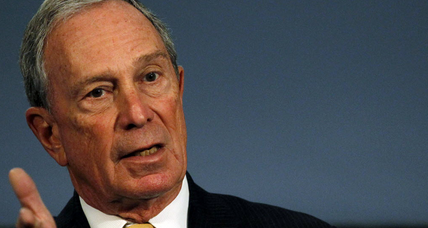 Gun control: Bloomberg, bruised, rejoins battle over background checks (+video)