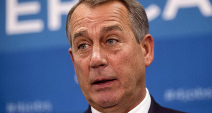 Government shutdown coming? Boehner raises stakes on defunding Obamacare.