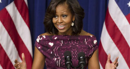 Michelle Obama drafts food marketers in childhood obesity battle