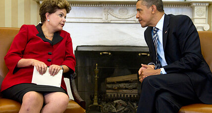 Did Brazil's president just knock down US influence a notch or two? (+video)