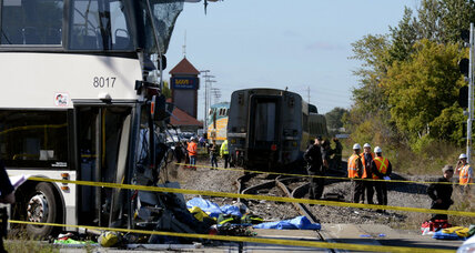 'Mayhem' as Ottawa bus crashes into train, killing 6, injuring 34